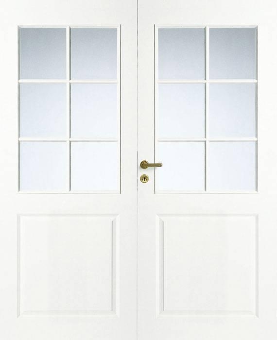 Дверь филенчатая Jeld-Wen Style 2, двустворчатая купить со складов в Москве и Петербурге  | Финские межкомнатные двери от официального дилера Jeld-Wen